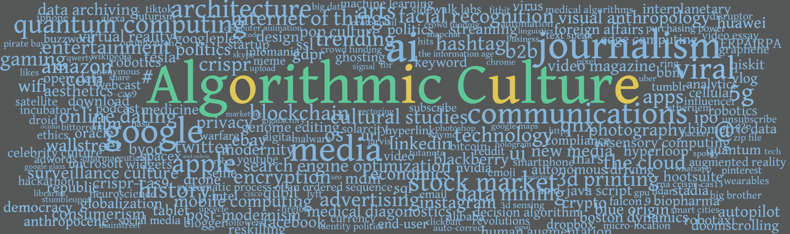 Algorithmic Culture Magazine